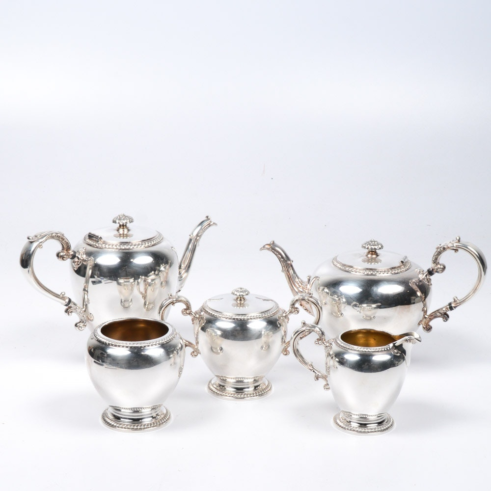 "Reed & Barton ""Buckingham"" Silver Plate Tea and Coffee Service"