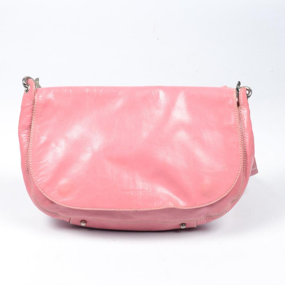 Frances Cobiasia Pink Leather Purse
