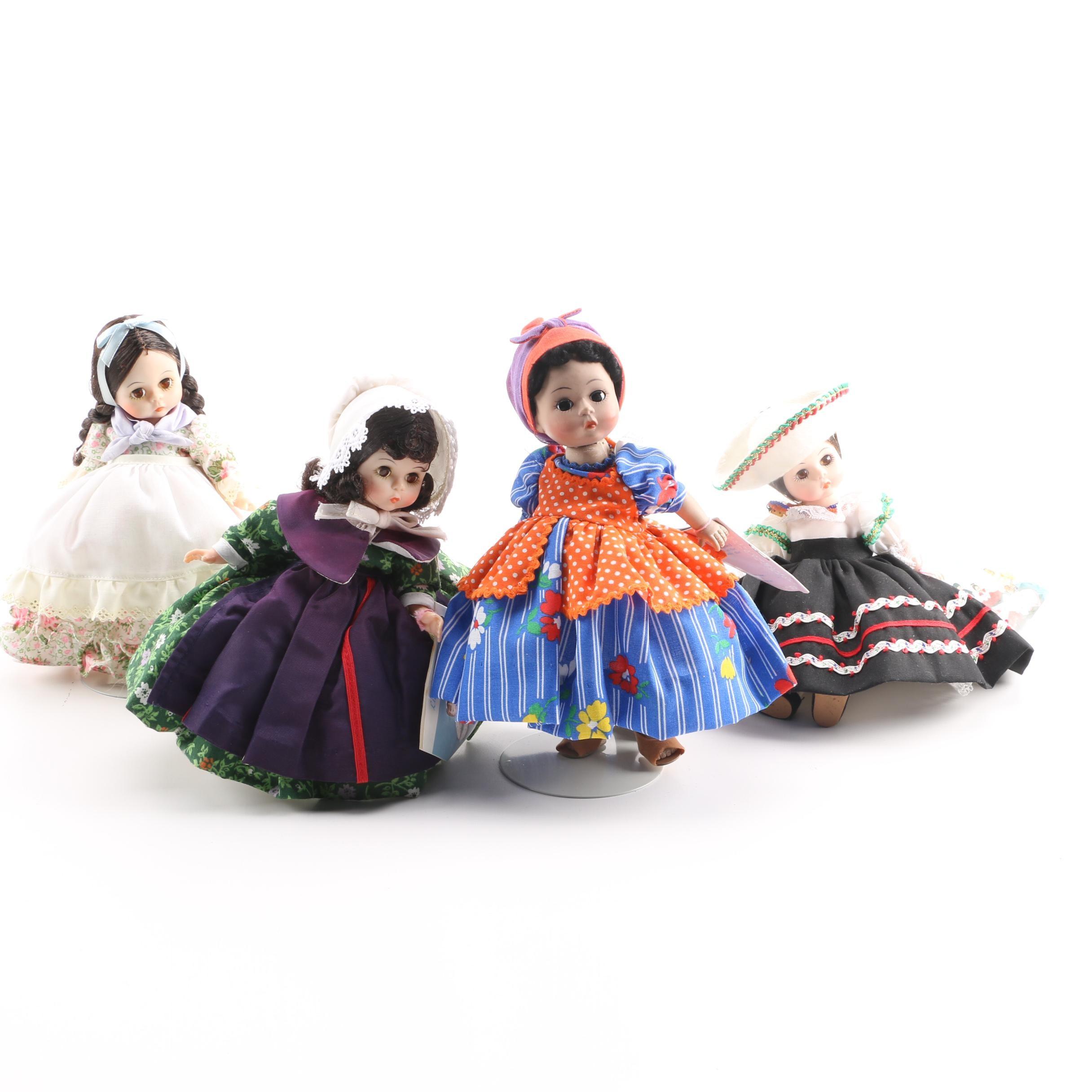 Vintage Madame Alexander International Dolls