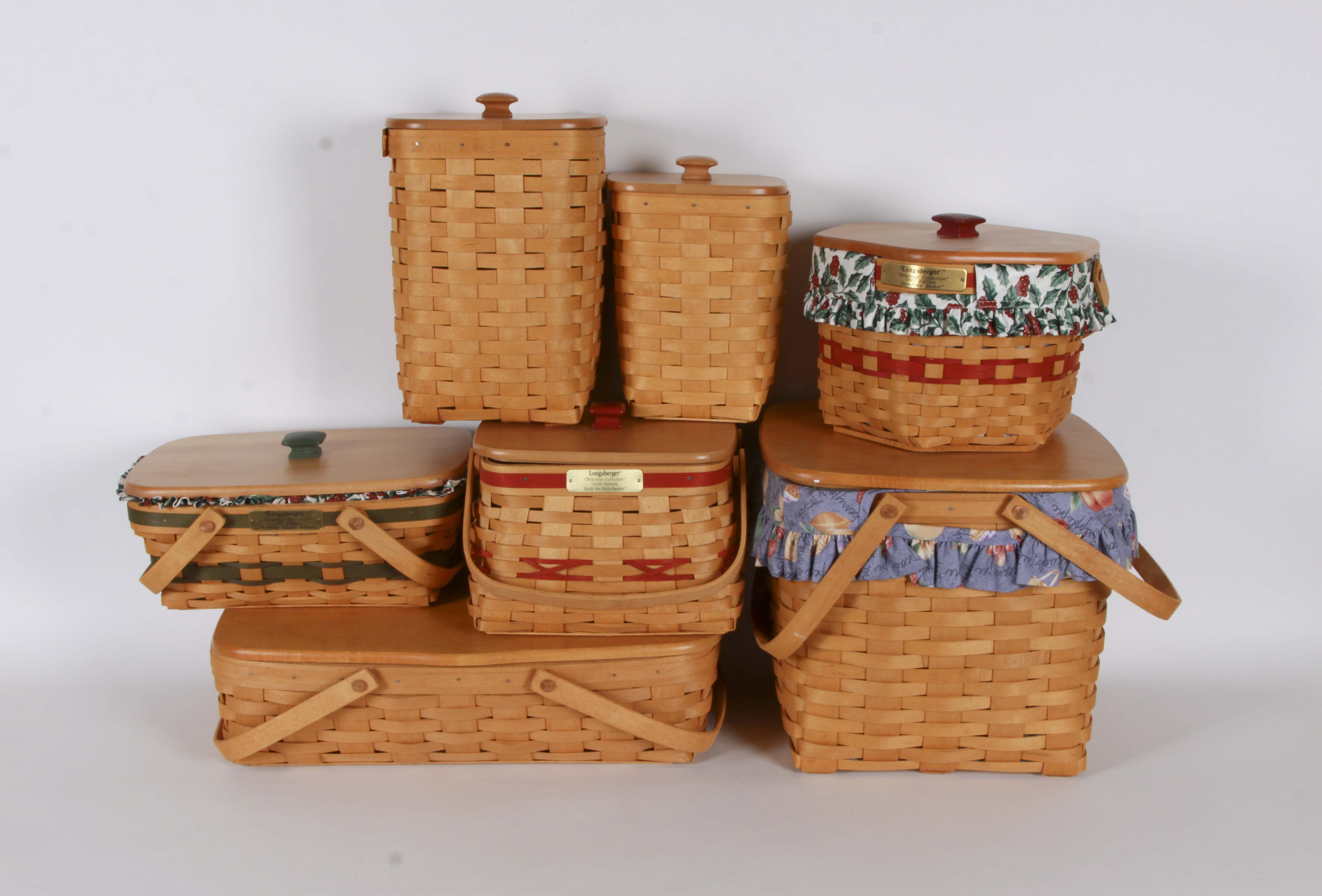 Assortment of Longaberger Baskets