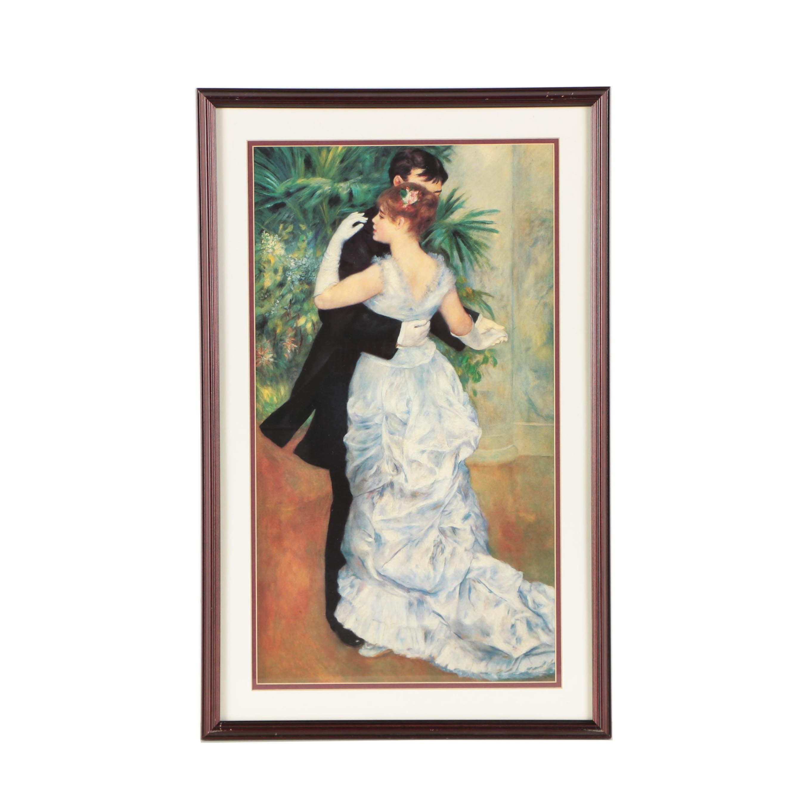 Offset Lithographic Reproduction Print After Pierre-Auguste Renoir