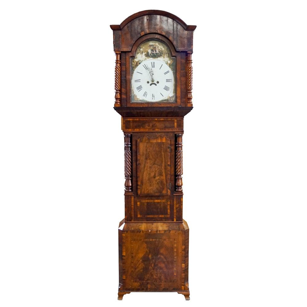 Early 19th Century Johnson Grandfather Clock