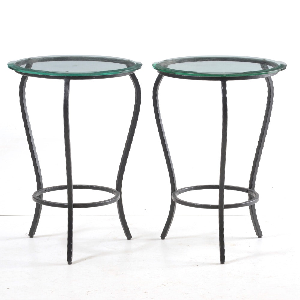Pair of Contemporary End Tables