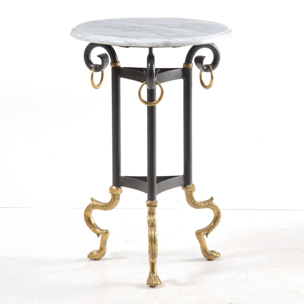 A Contemporary End Table