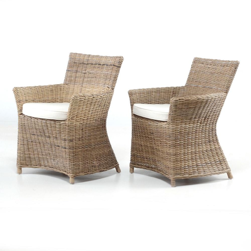 Nova Solo Wickerworks Bishop Chairs ...