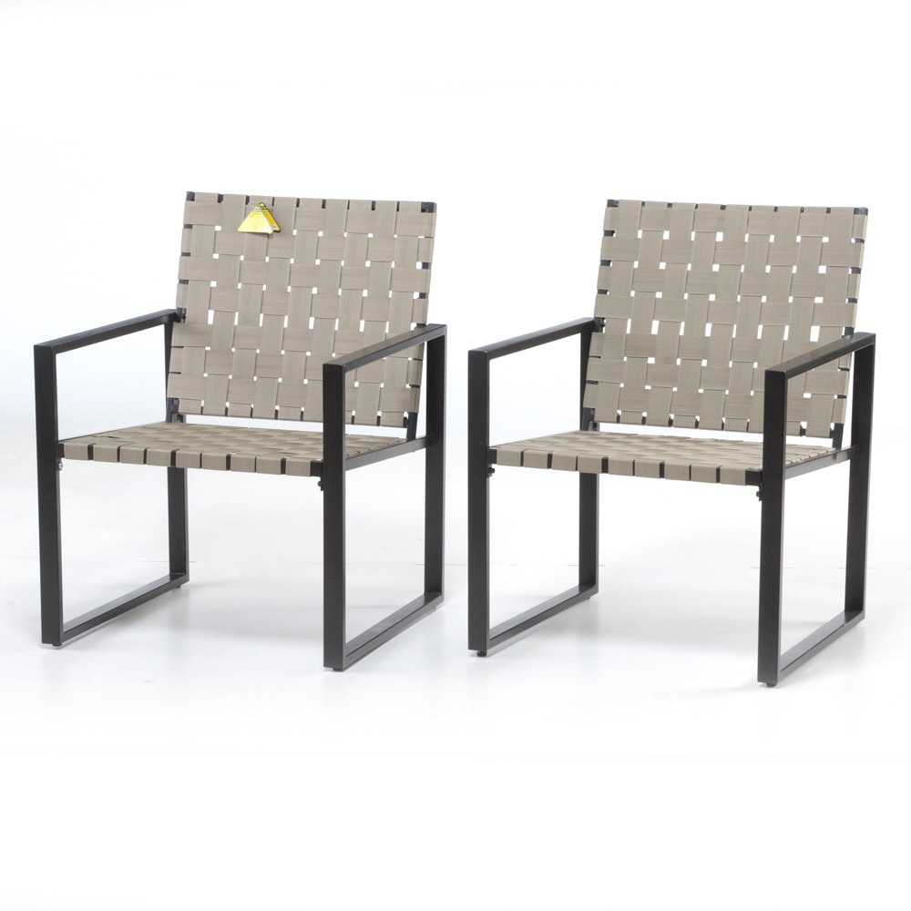 Rio Creations Metro Weave Outdoor Patio Chairs ...