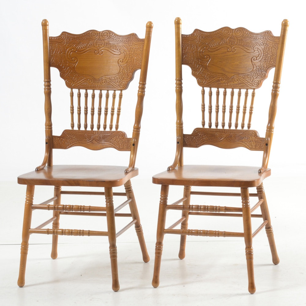 1970s Victorian Style Side Chairs