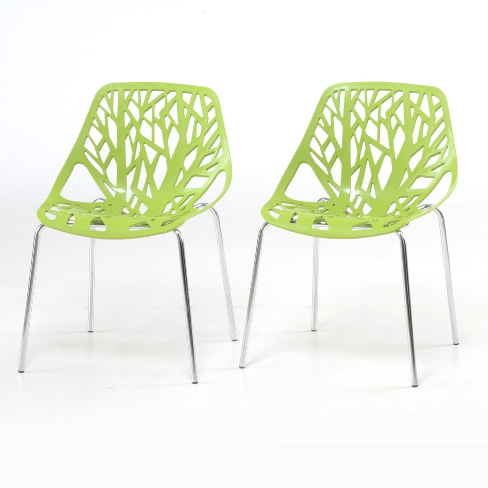 Pair of Contemporary Modern Chairs