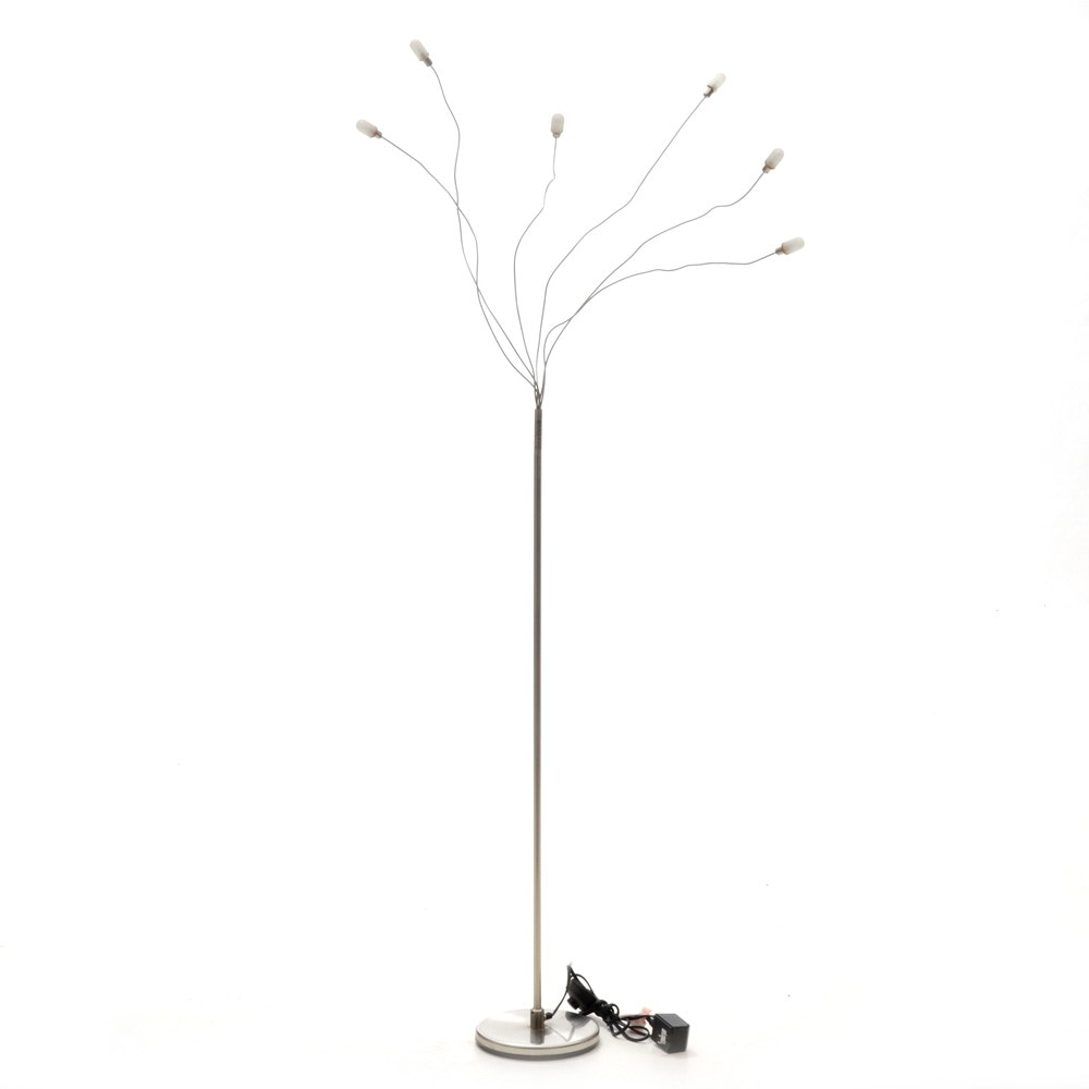 Seed Designs Sculptural Halogen Six-Light Floor Lamp