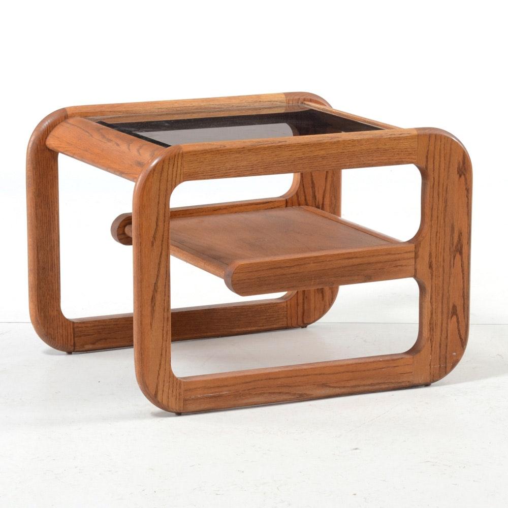 Mersman Waldron Modern Glass Top Coffee Table