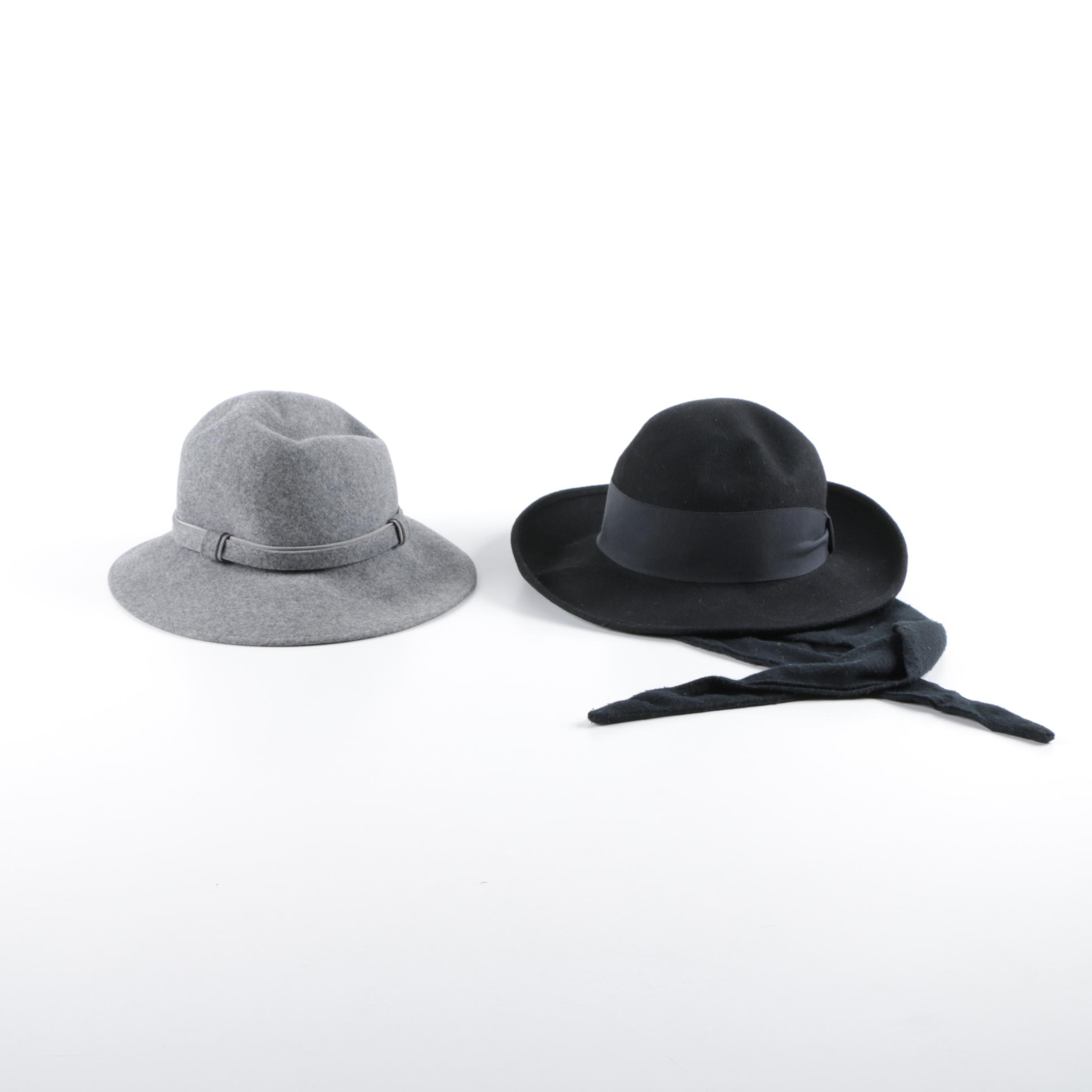 Women's Michael Howard and Pappagallo Wool Hats