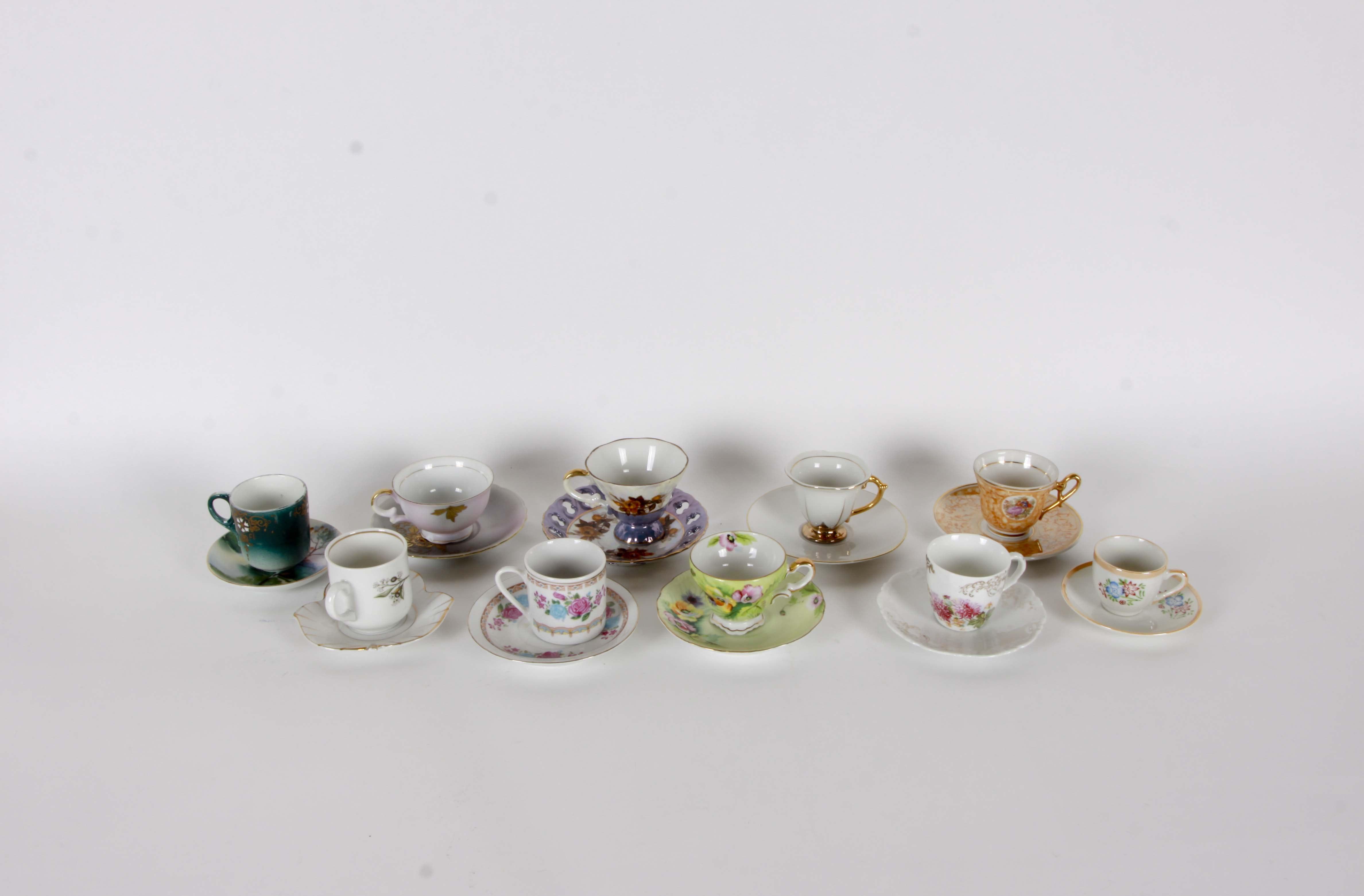 Vintage Teacup Assortment