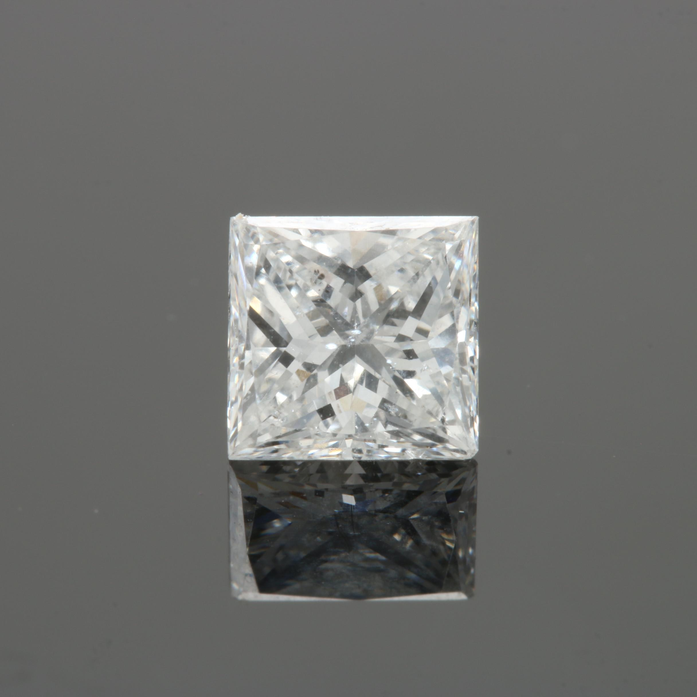 Loose 0.76 CT Diamond Gemstone