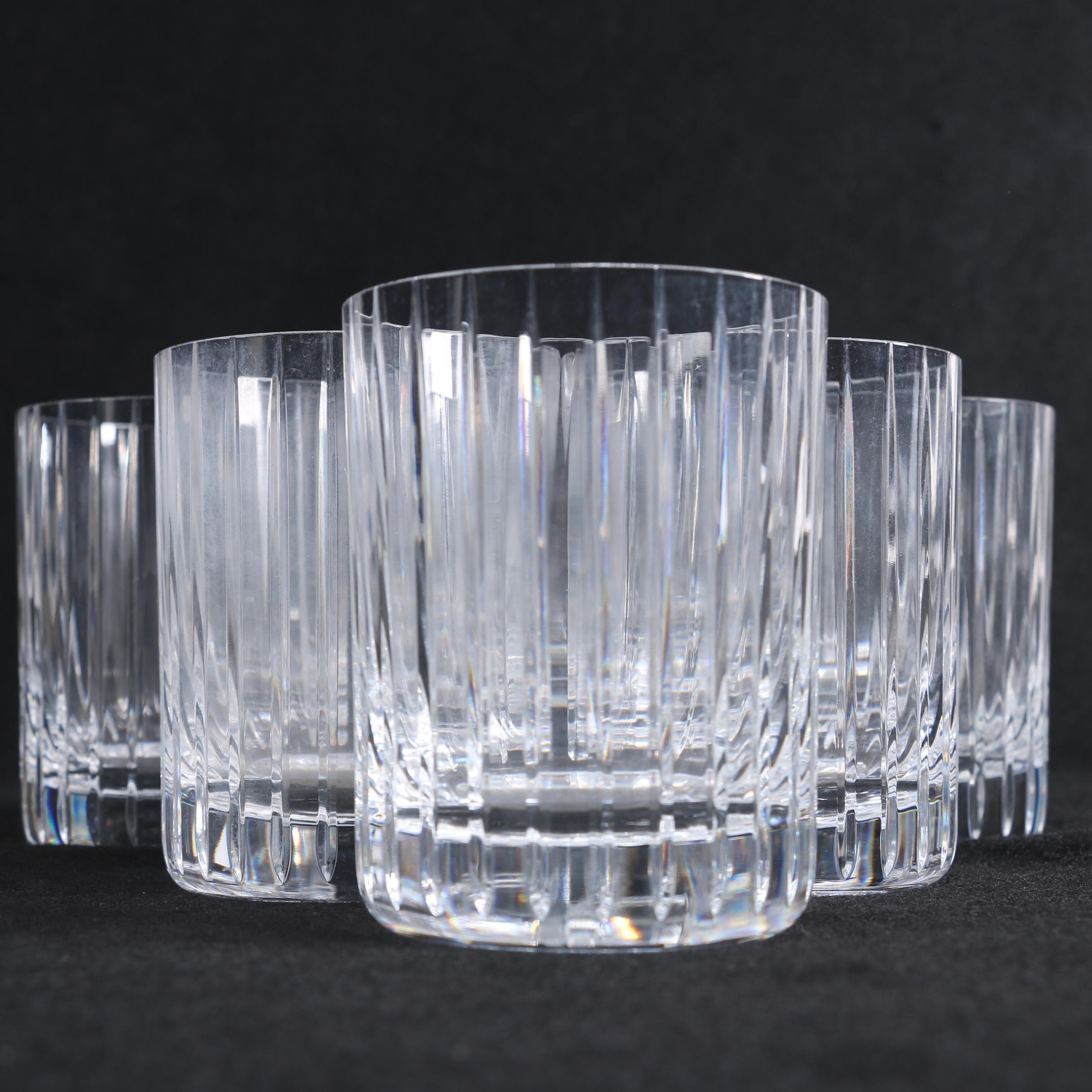 "Baccarat Crystal ""Harmonie"" Tumblers"