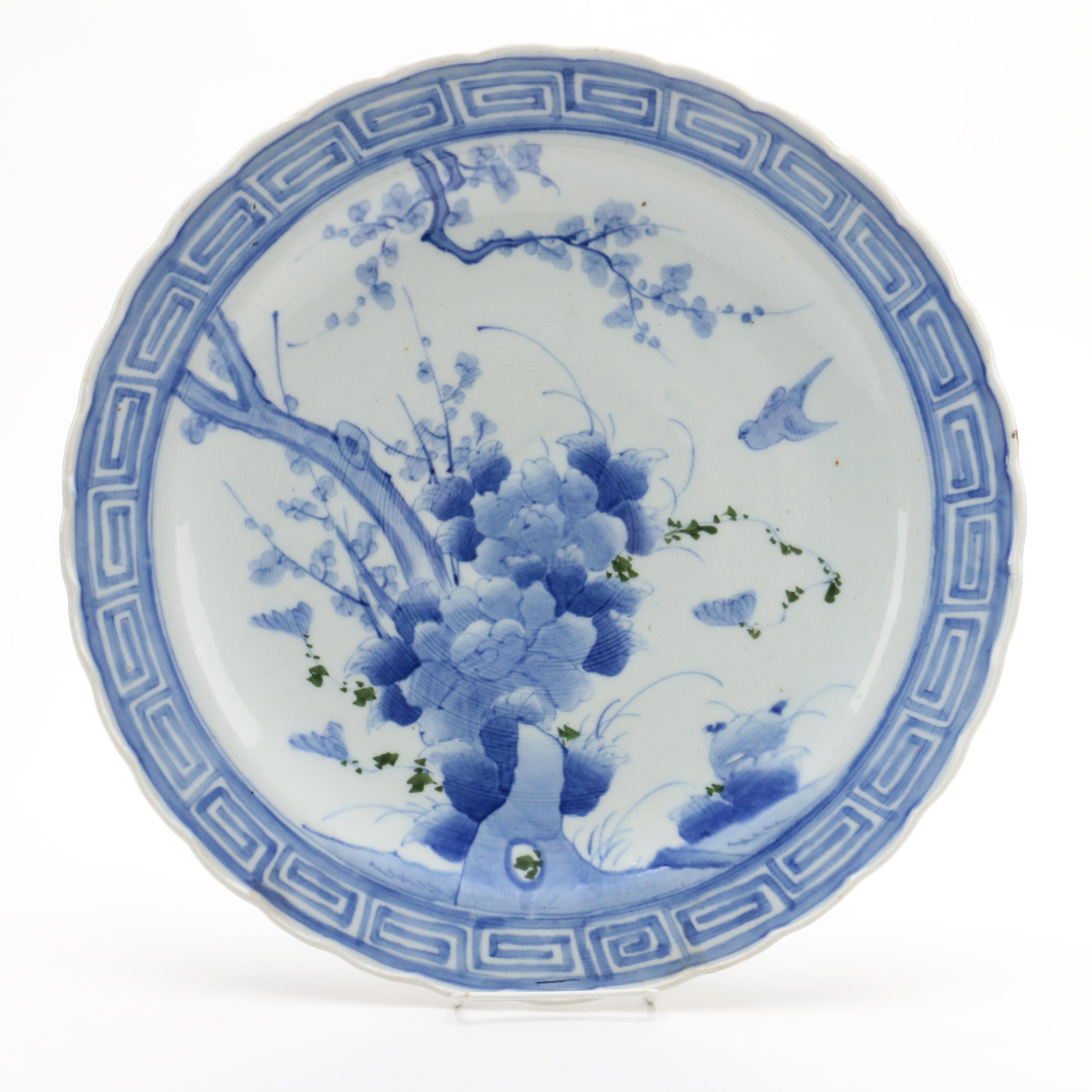 Antique Japanese Arita Ware Platter