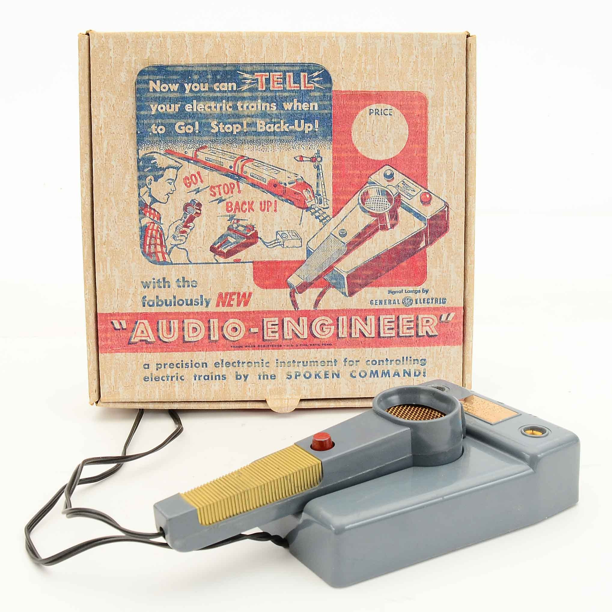 "Model Train ""Audio Engineer"" Voice Controller"