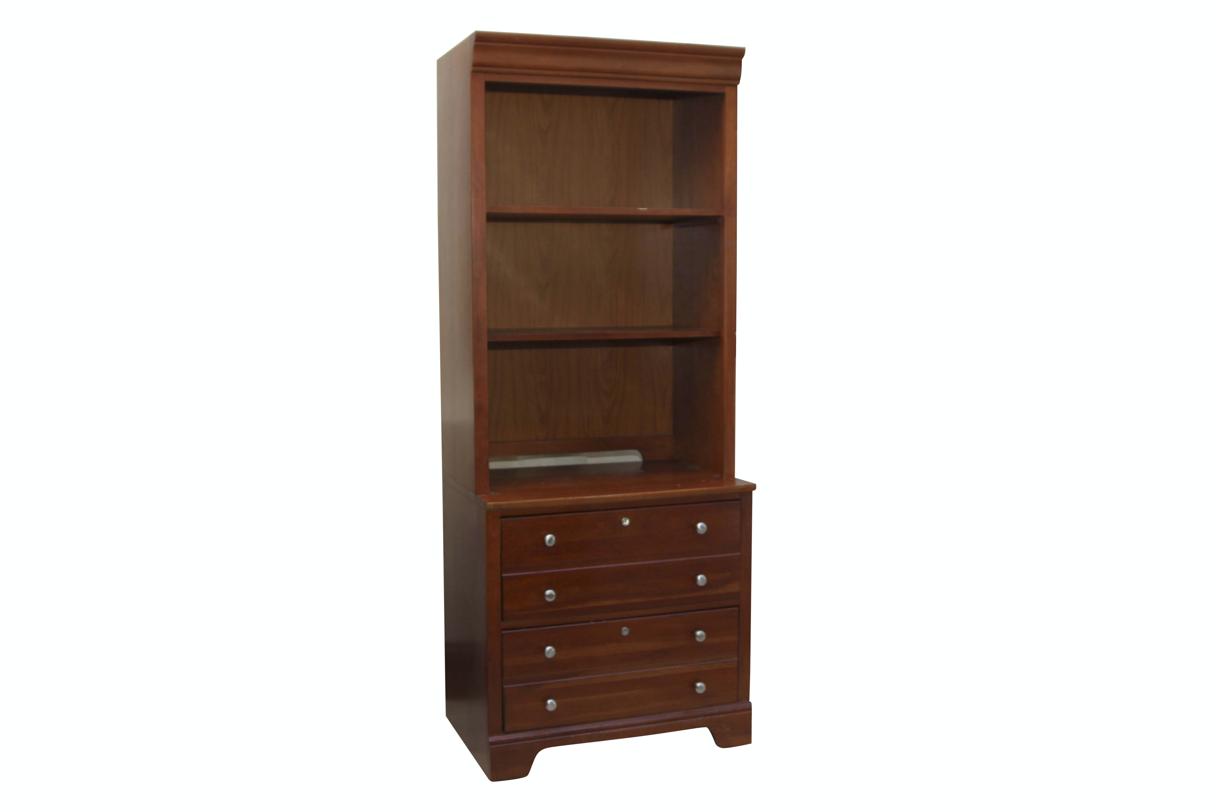Stanley Furniture Book Case and Filing Cabinet Unit