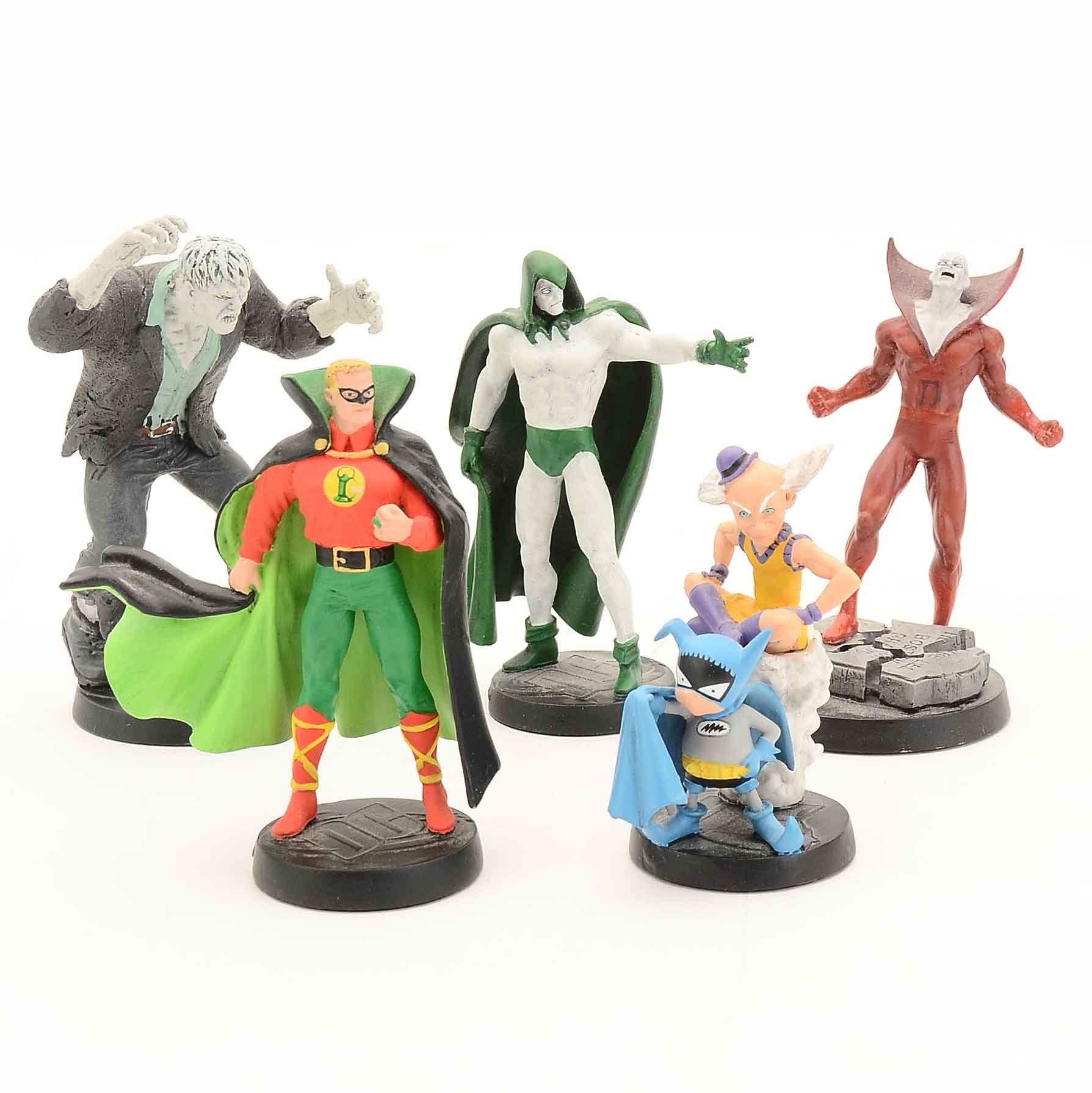 Group of Eaglemoss DC Comics Figurines