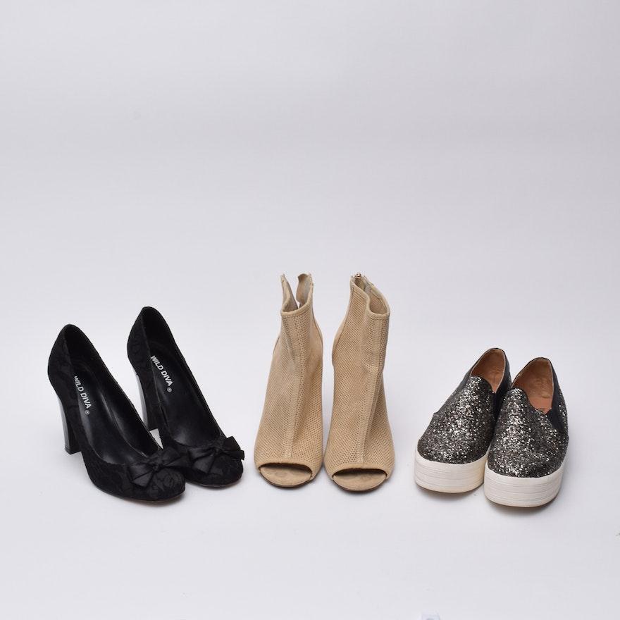 79f3f0b99c2 Women s Mossimo Glitter Sneakers