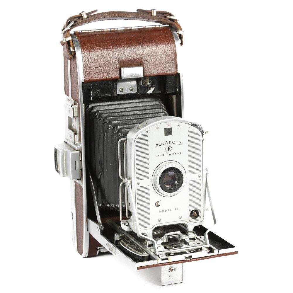Vintage Polaroid Retractable Camera
