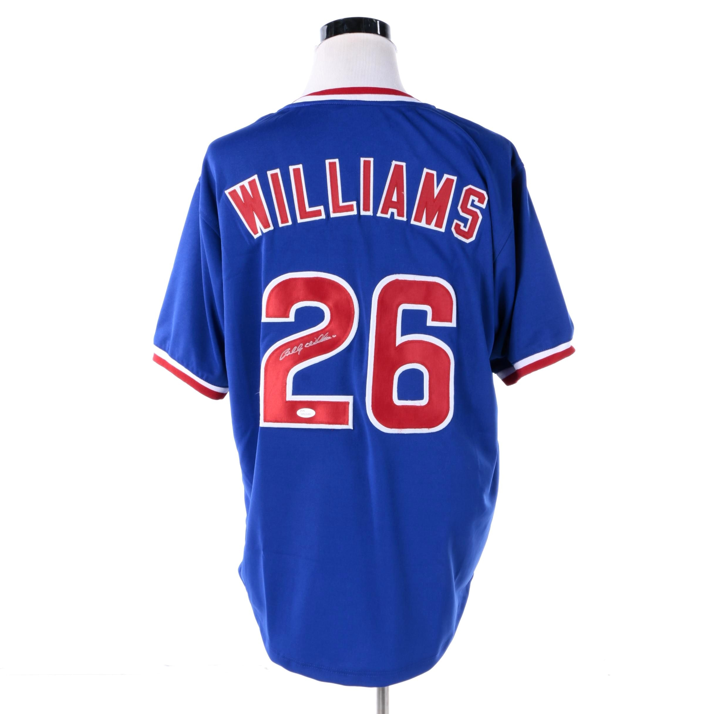 Billy Williams Autographed Chicago Cubs Jersey - JSA COA