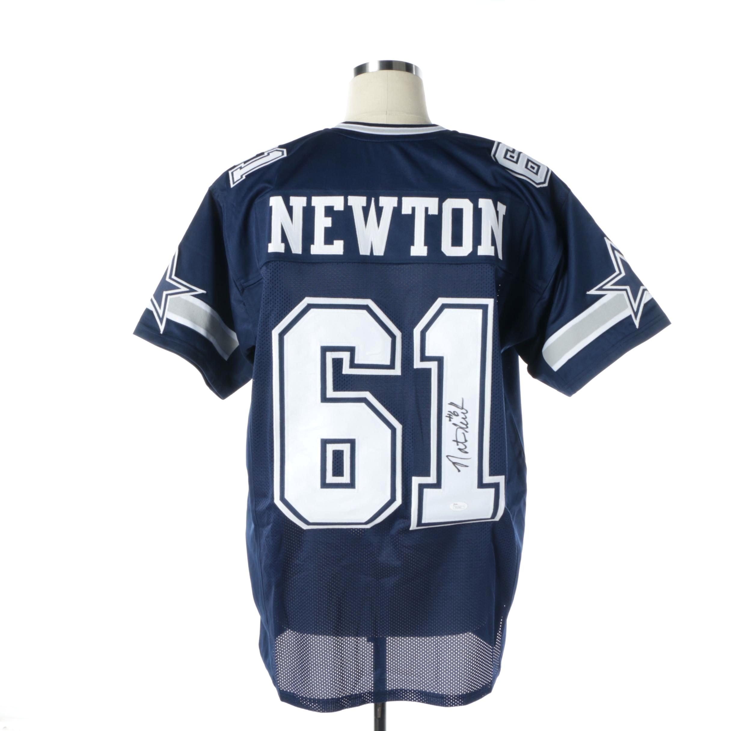 Nate Newton Autographed Dallas Cowboys Jersey - JSA COA