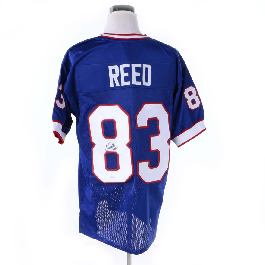 ef97fcaa7 Andre Reed Autographed Buffalo Bills Jersey - JSA COA   EBTH
