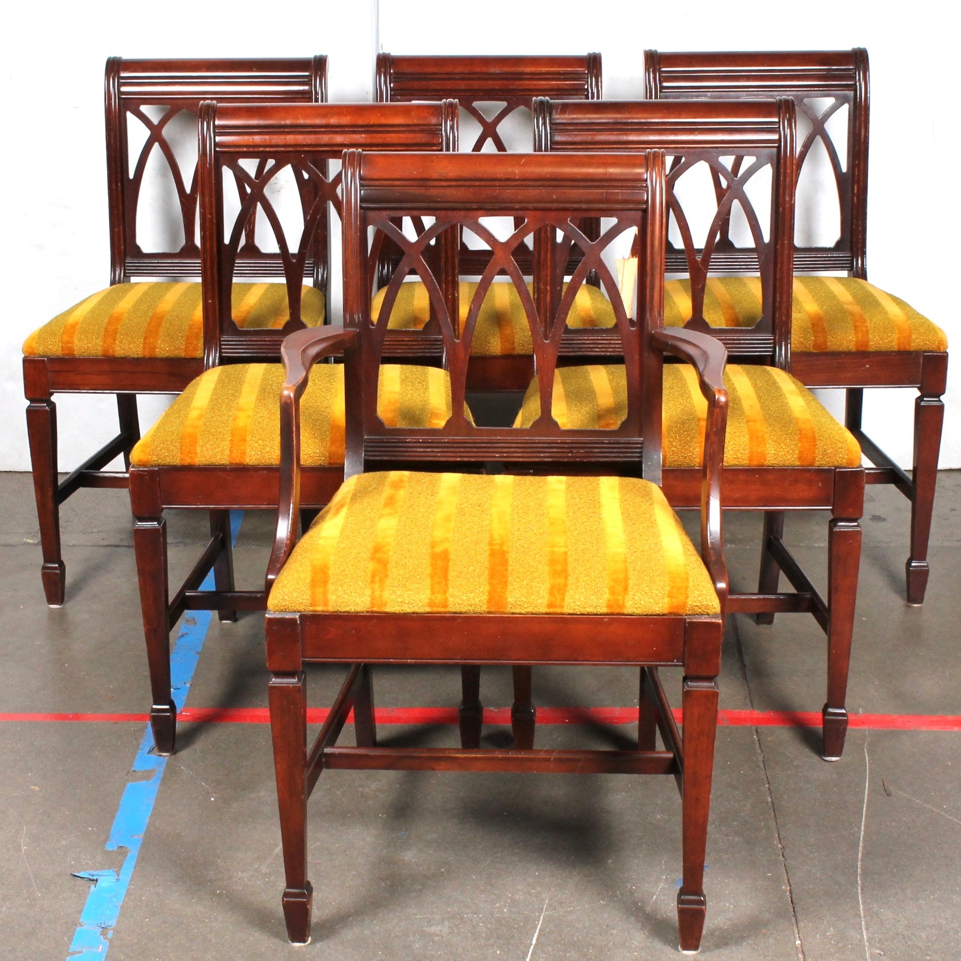 Vintage Wooden Dining Chairs