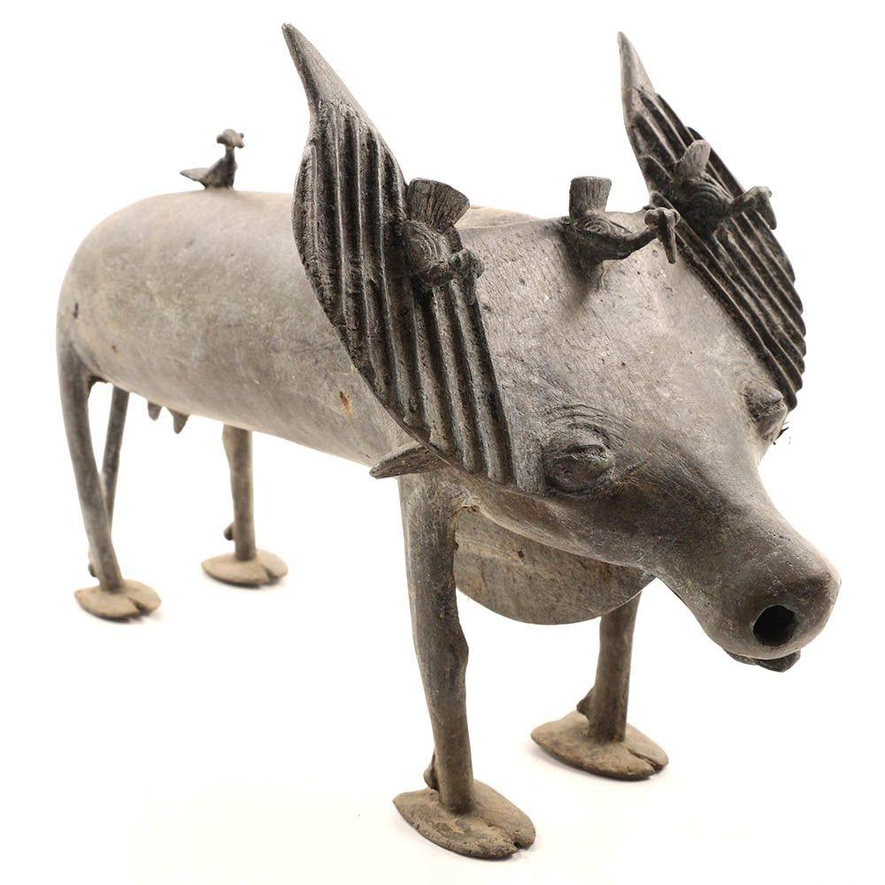 Artisan Made Bronze Water Buffalo