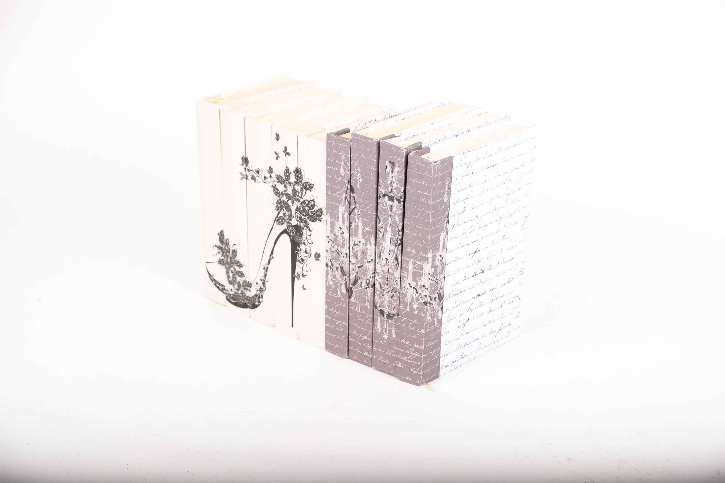 Collection of Decoratively Rebound Novels