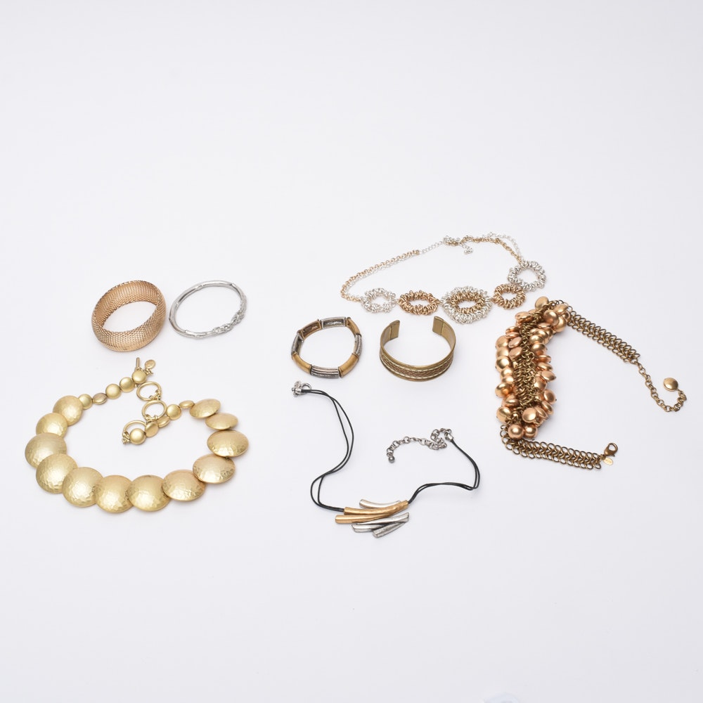Gold Tone Jewelry Assortment