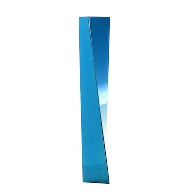 """Zaha Hadid Limited Edition Stainless Steel Vase """"Crevasse"""""""