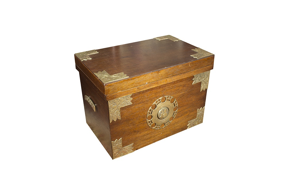Asian Style Wood Chest