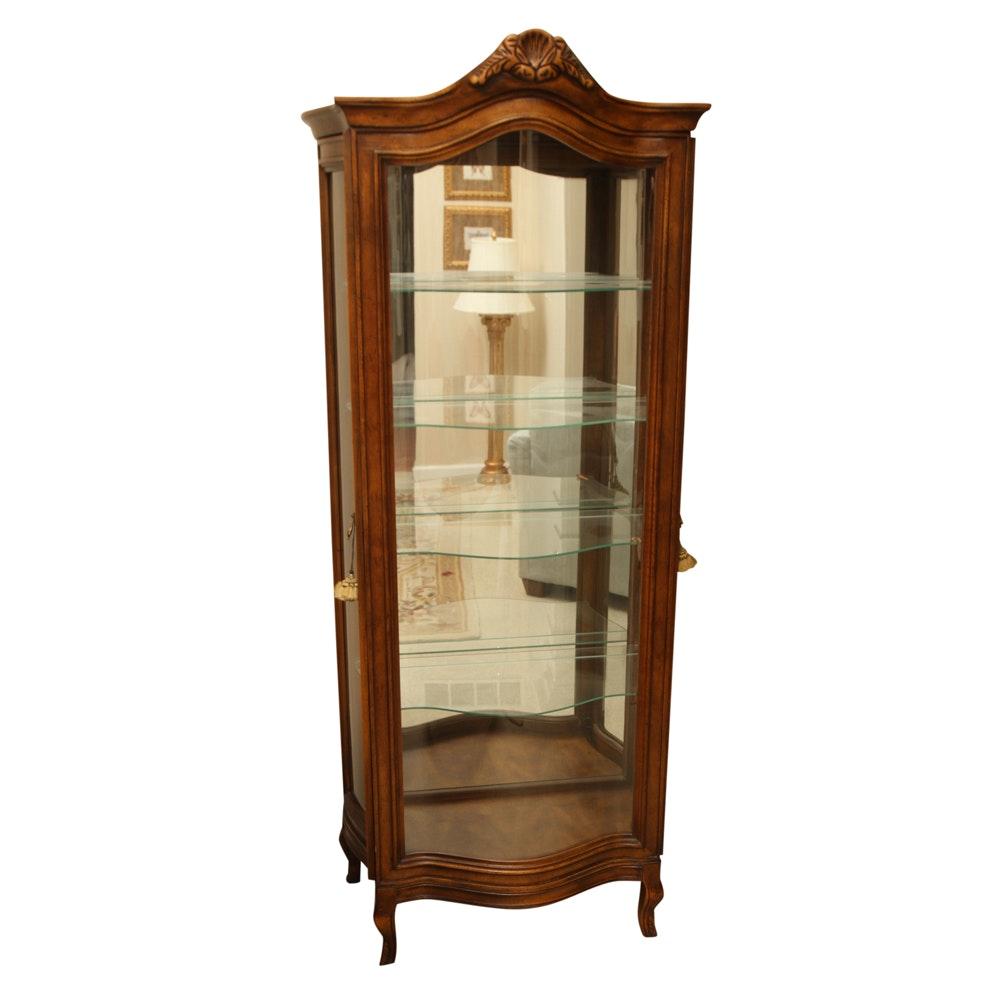Louis XV Style Curio Cabinet
