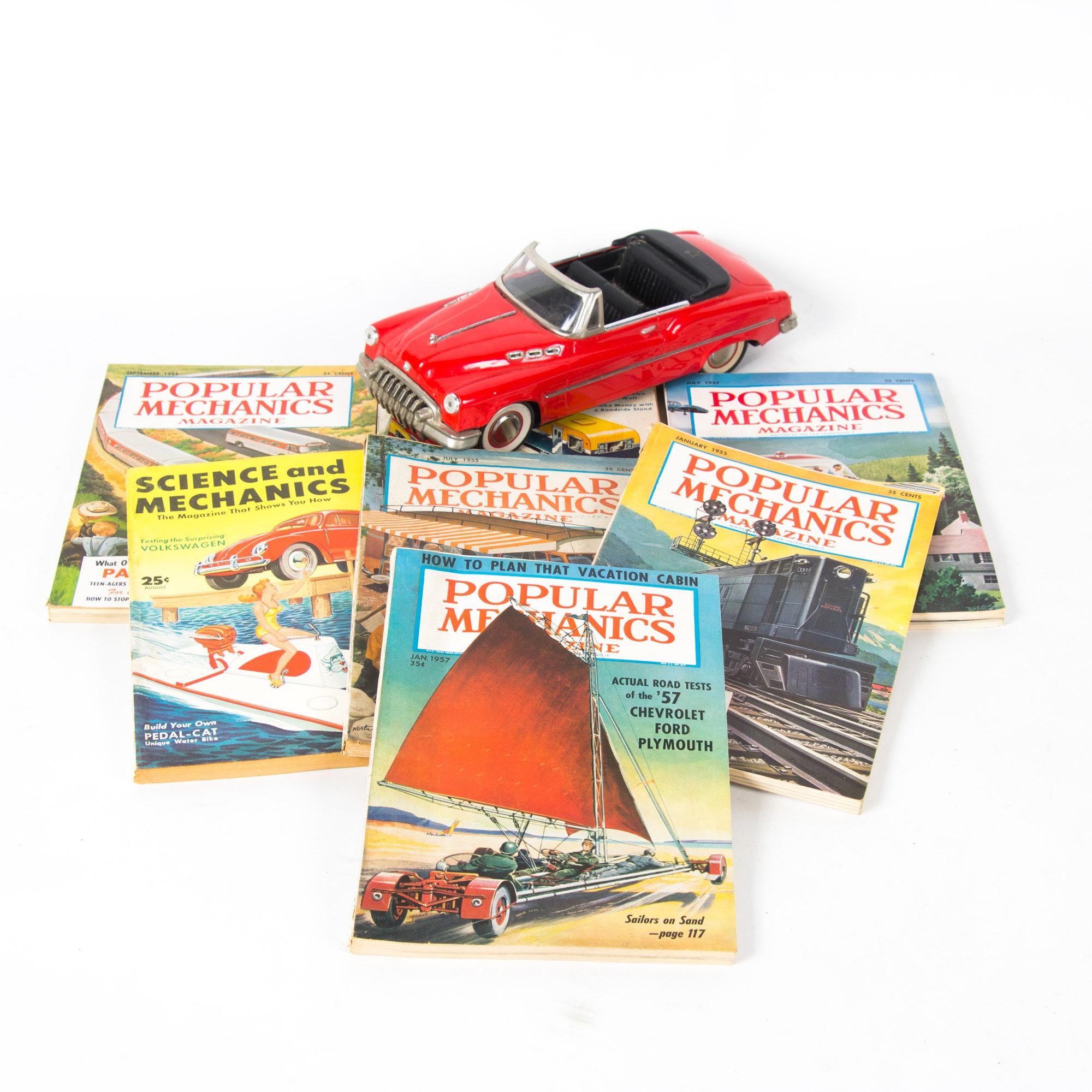 Assortment of Vintage Automobile Memorabilia