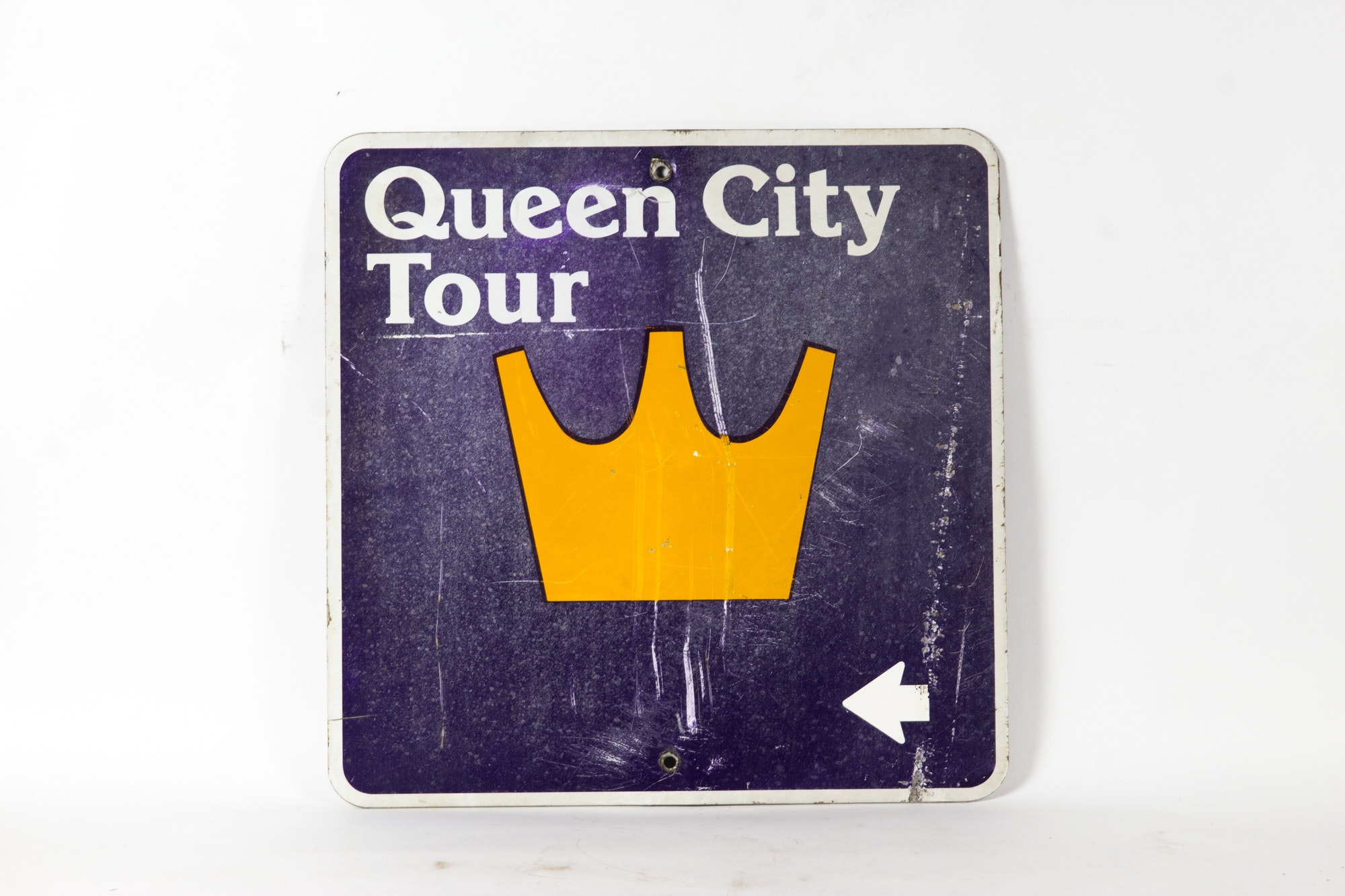 Queen City Tour Metal Sign