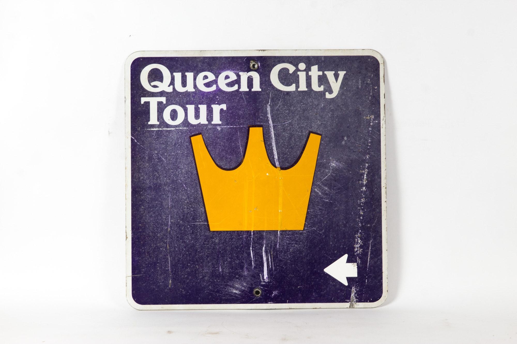 Queen City Tour Metal Sign
