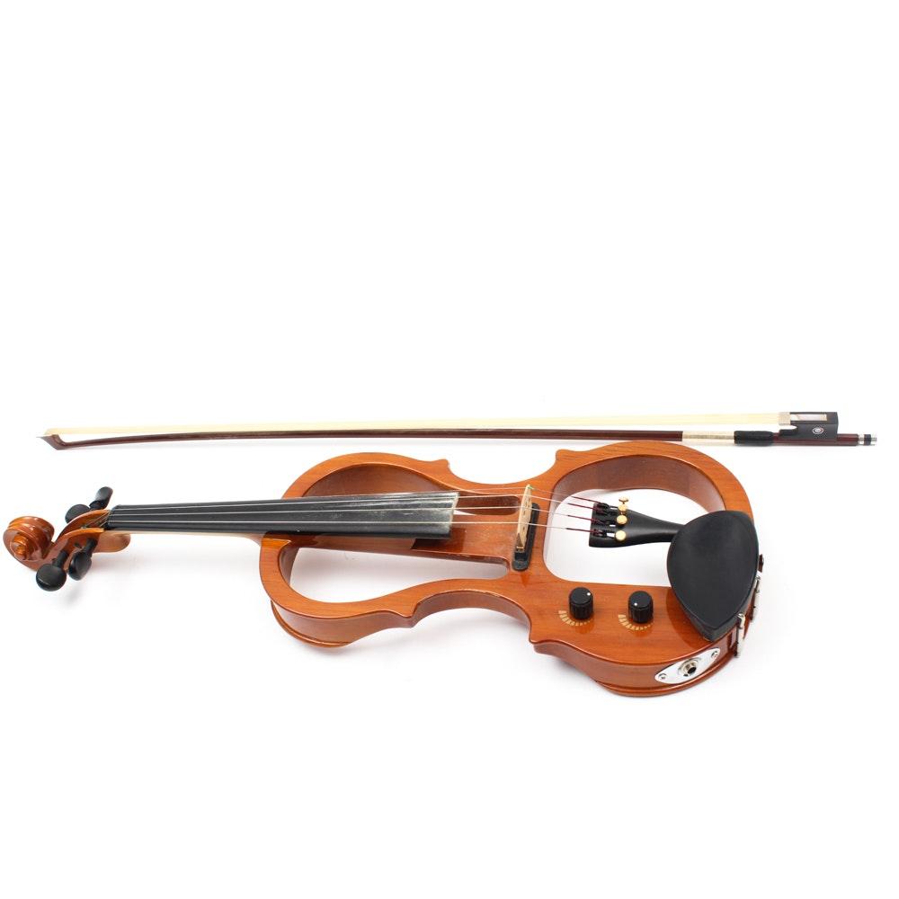Carlo Robelli Electric Violin with Case
