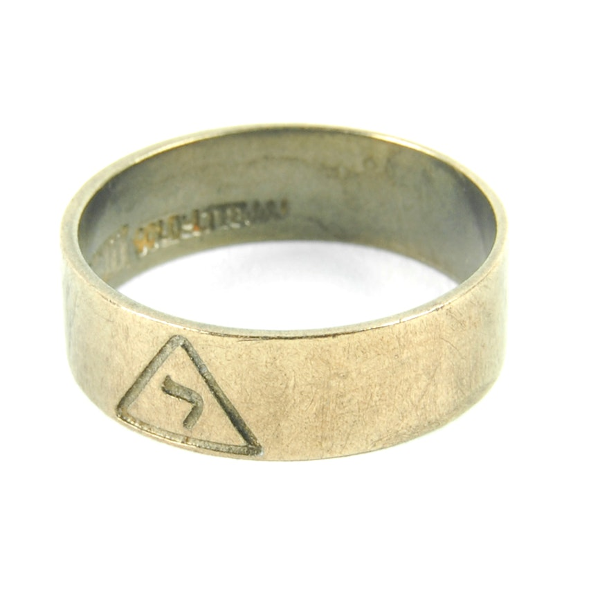 9ab09c0a66afb Silver Scottish Rite 14th Degree Masons Ring