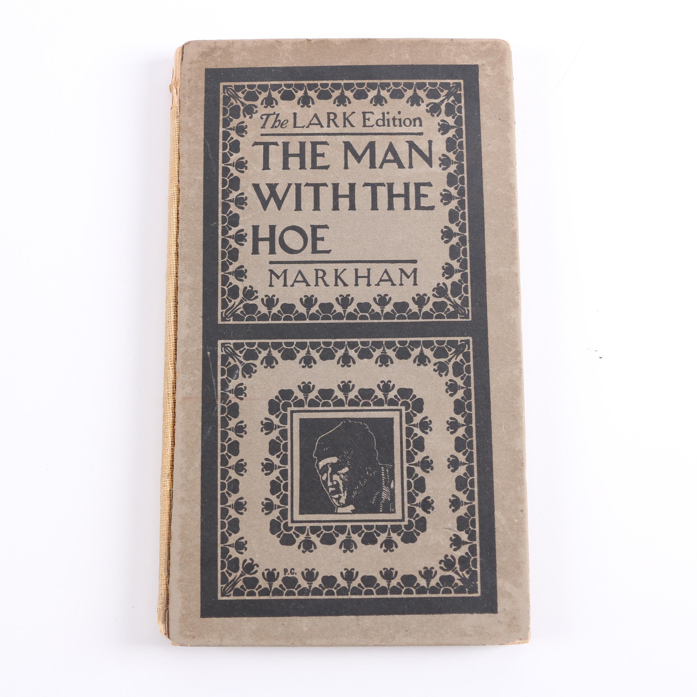 "1899 ""The Man with the Hoe"" by Edwin Markham"