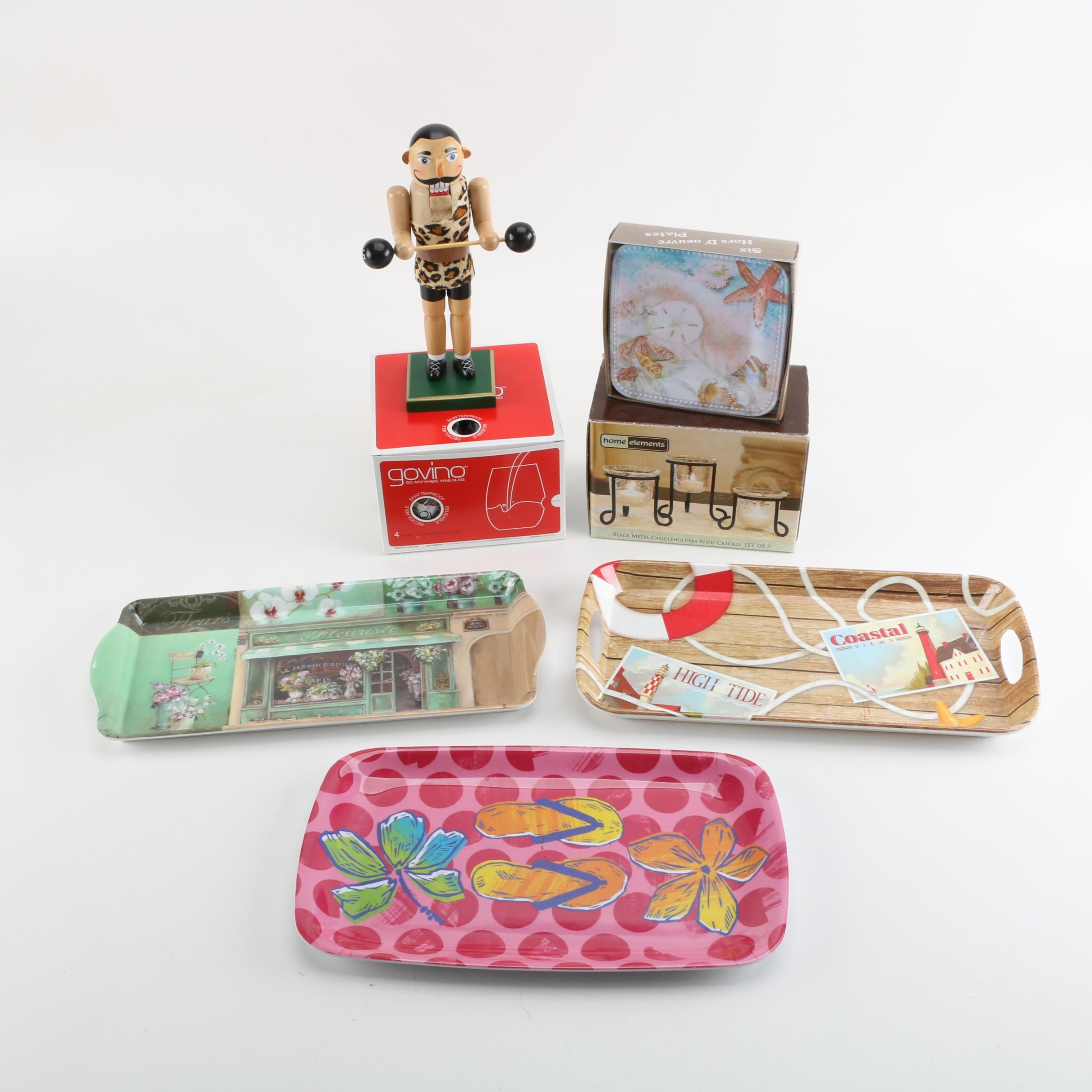 Vintage and Contemporary Picnic Items