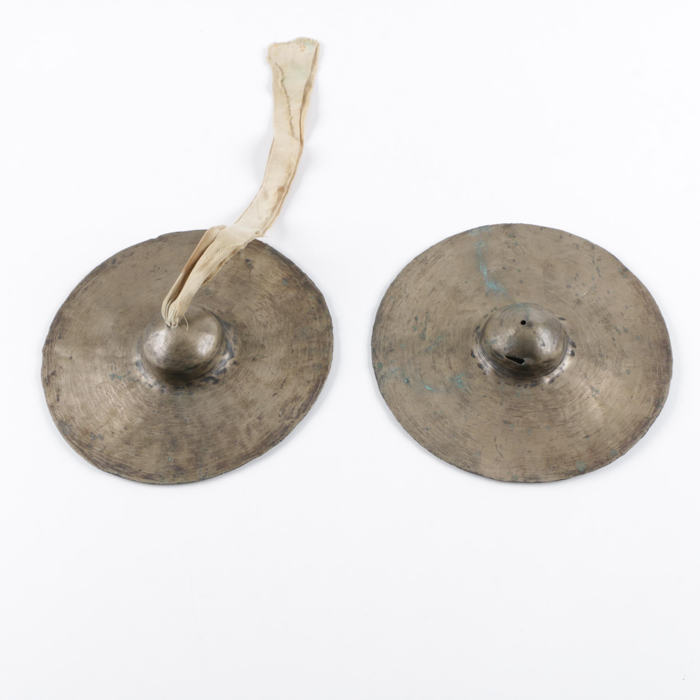 Vintage Chinese Clash Cymbals