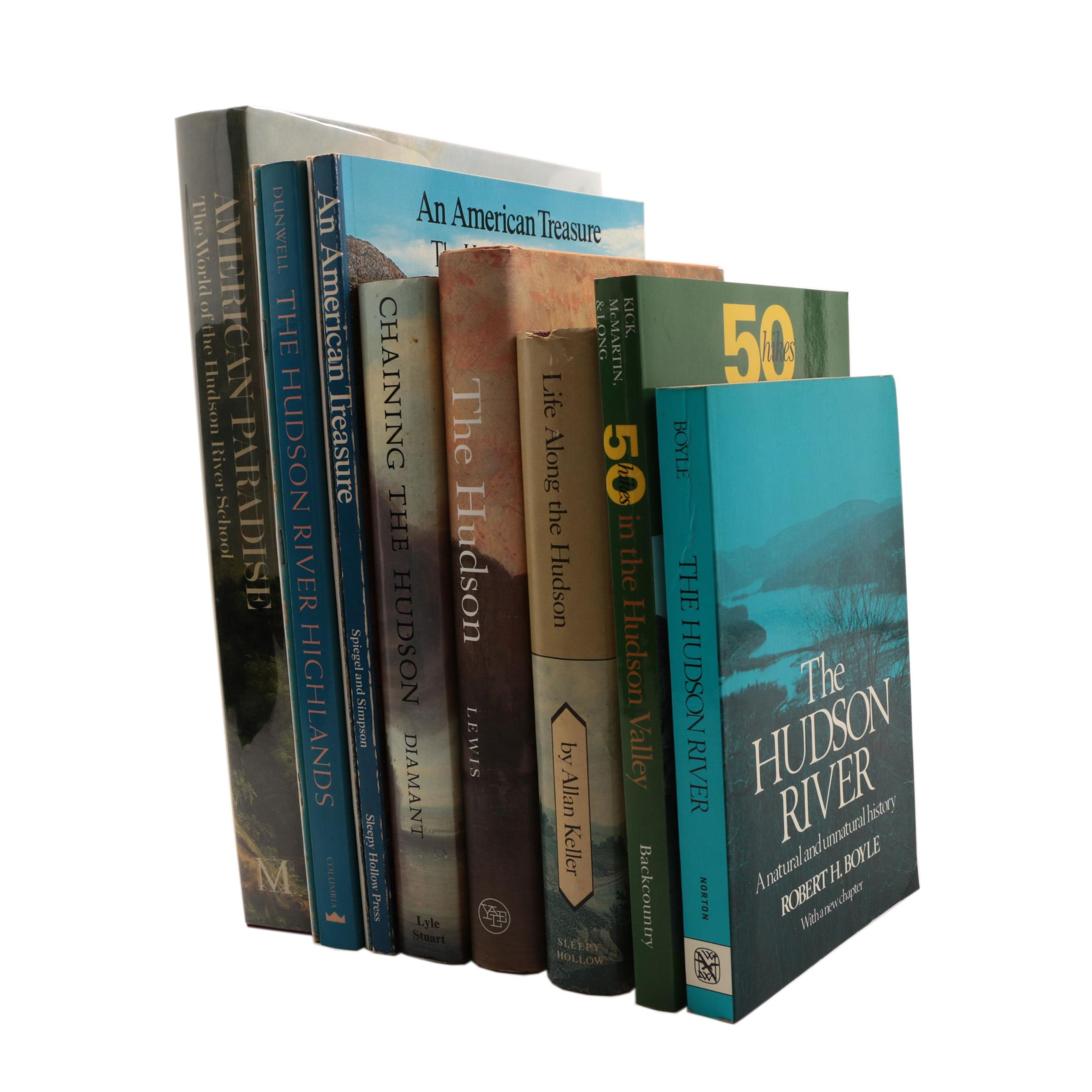 Collection of Books on the Hudson River Valley