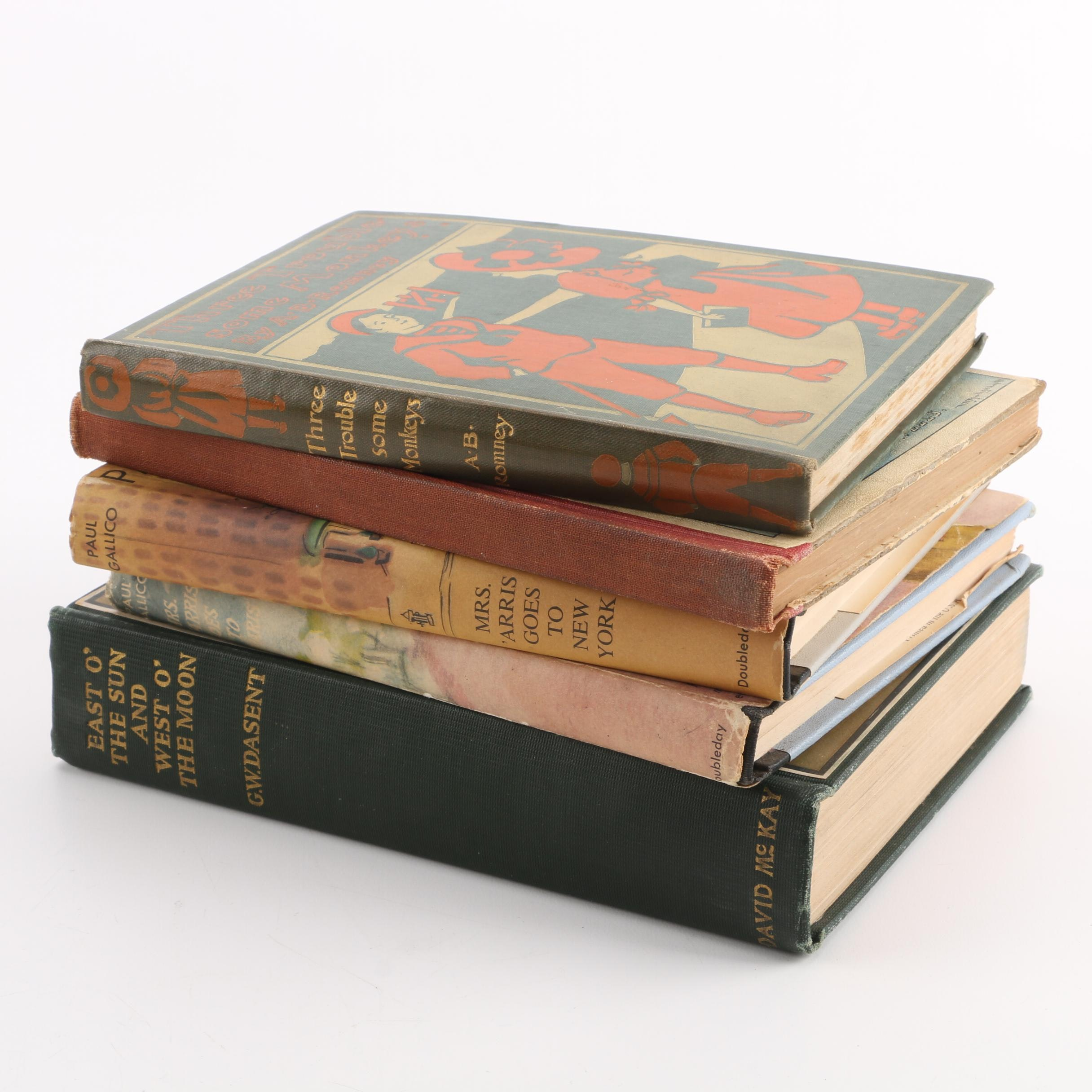 """Vintage Books Including """"The Lover's Baedeker and Guide to Arcady"""""""