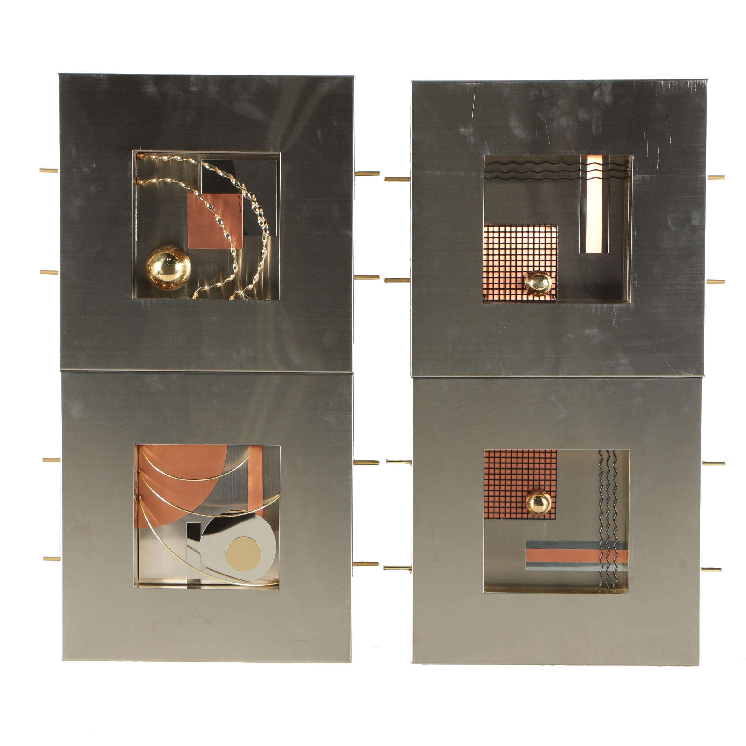 "Artisan House ""C. Jeré Collection"" Contemporary Metal Wall Sculpture"