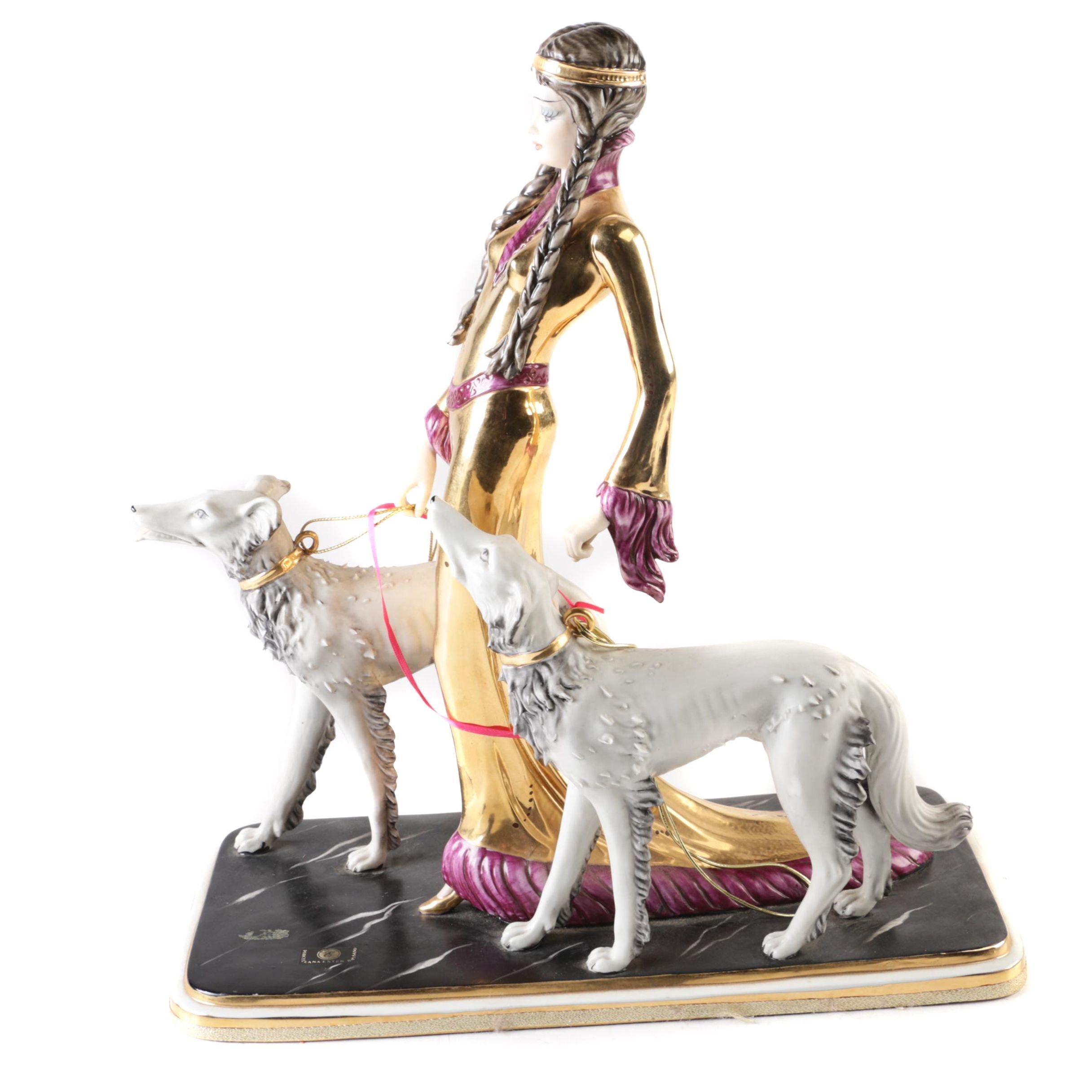 Capodimonte Porcellana Ester Bassano Figurine
