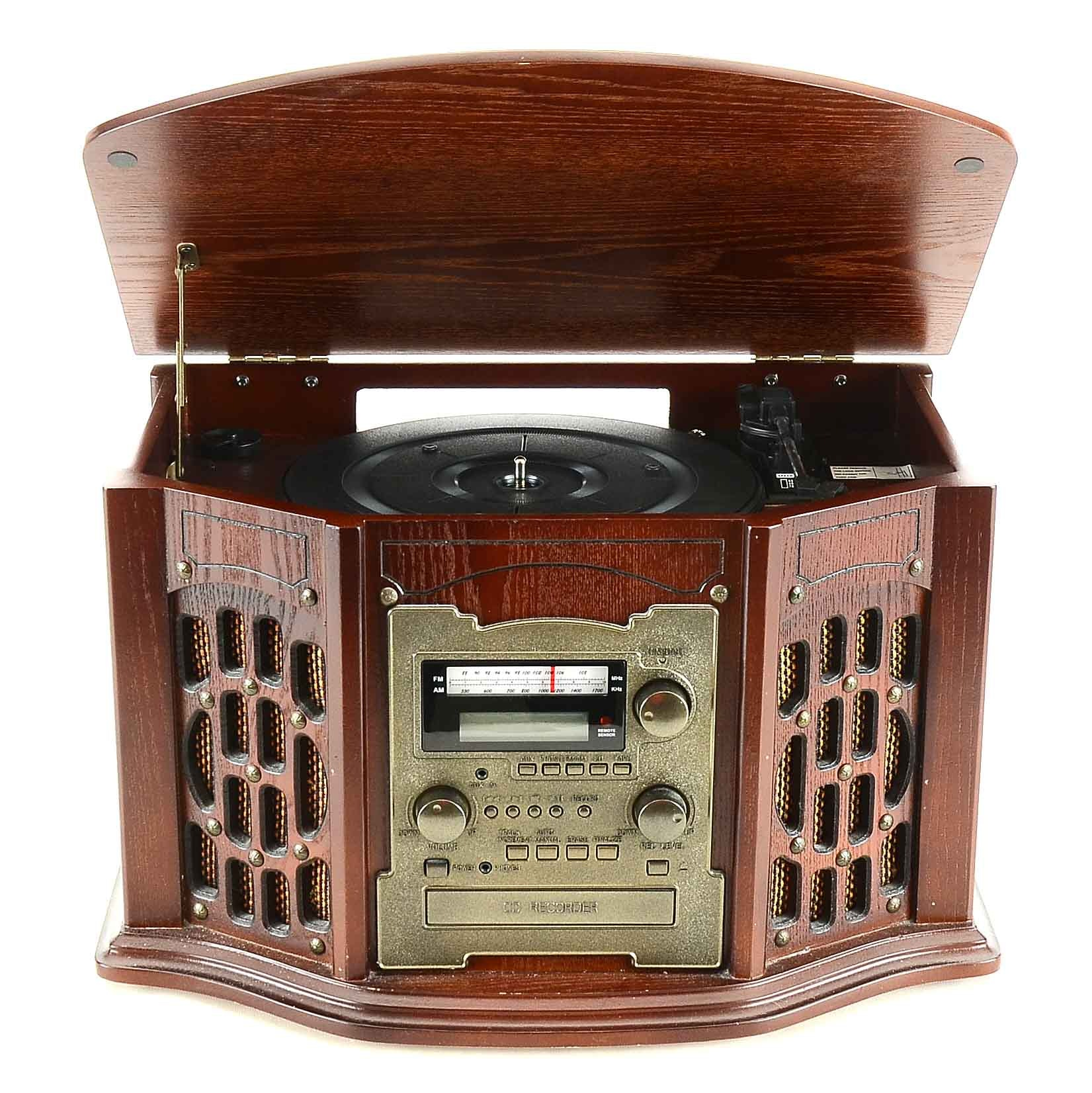 Innovative Technology  AM/FM Radio, Turntable and CD Player