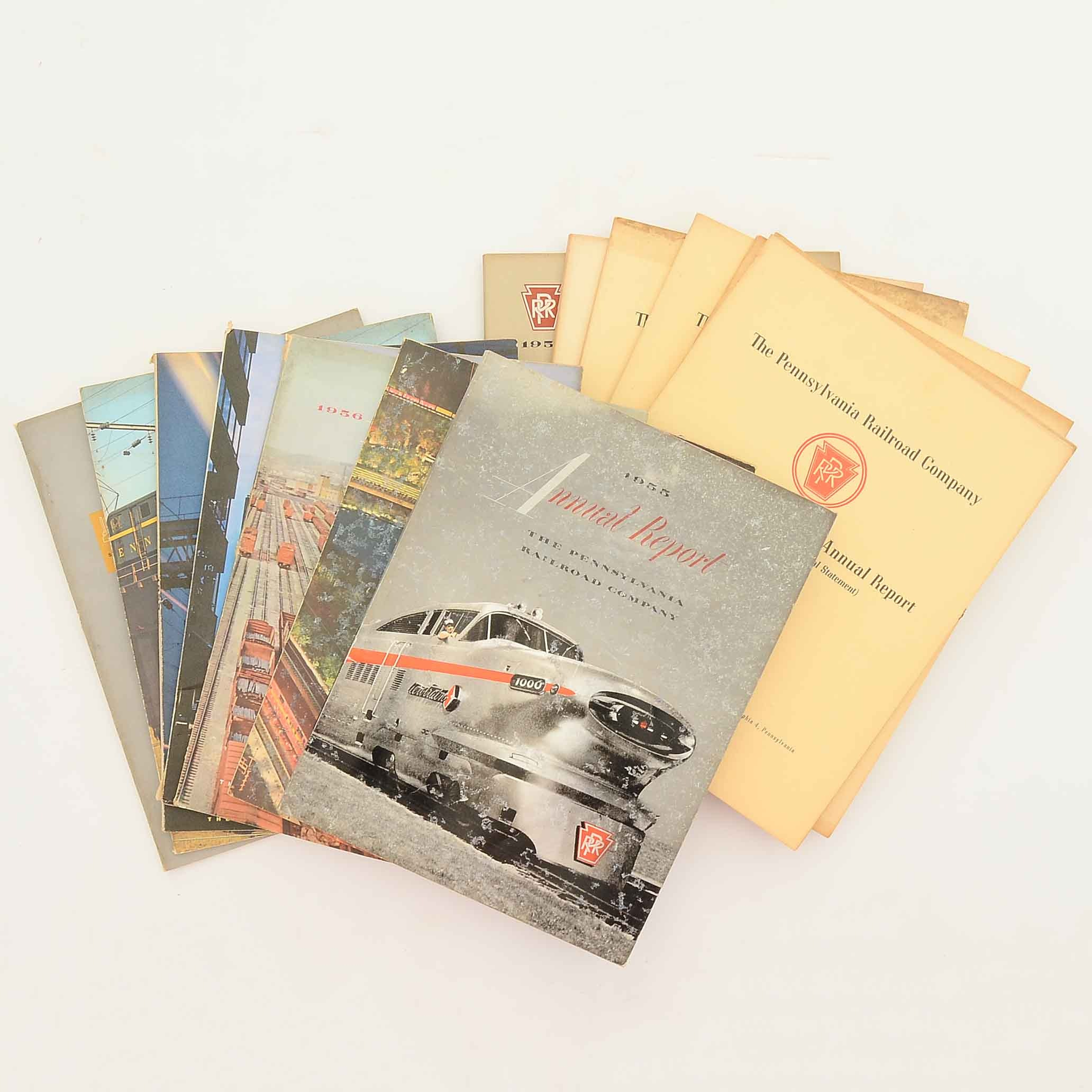 Collection of Vintage Railroad Reports