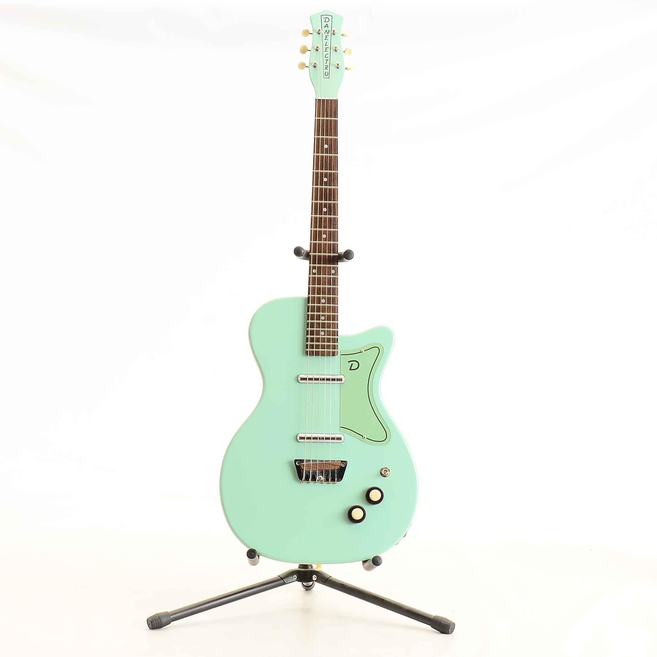 Danelectro '56 U2 Reissue Electric Guitar in Sea Foam Green
