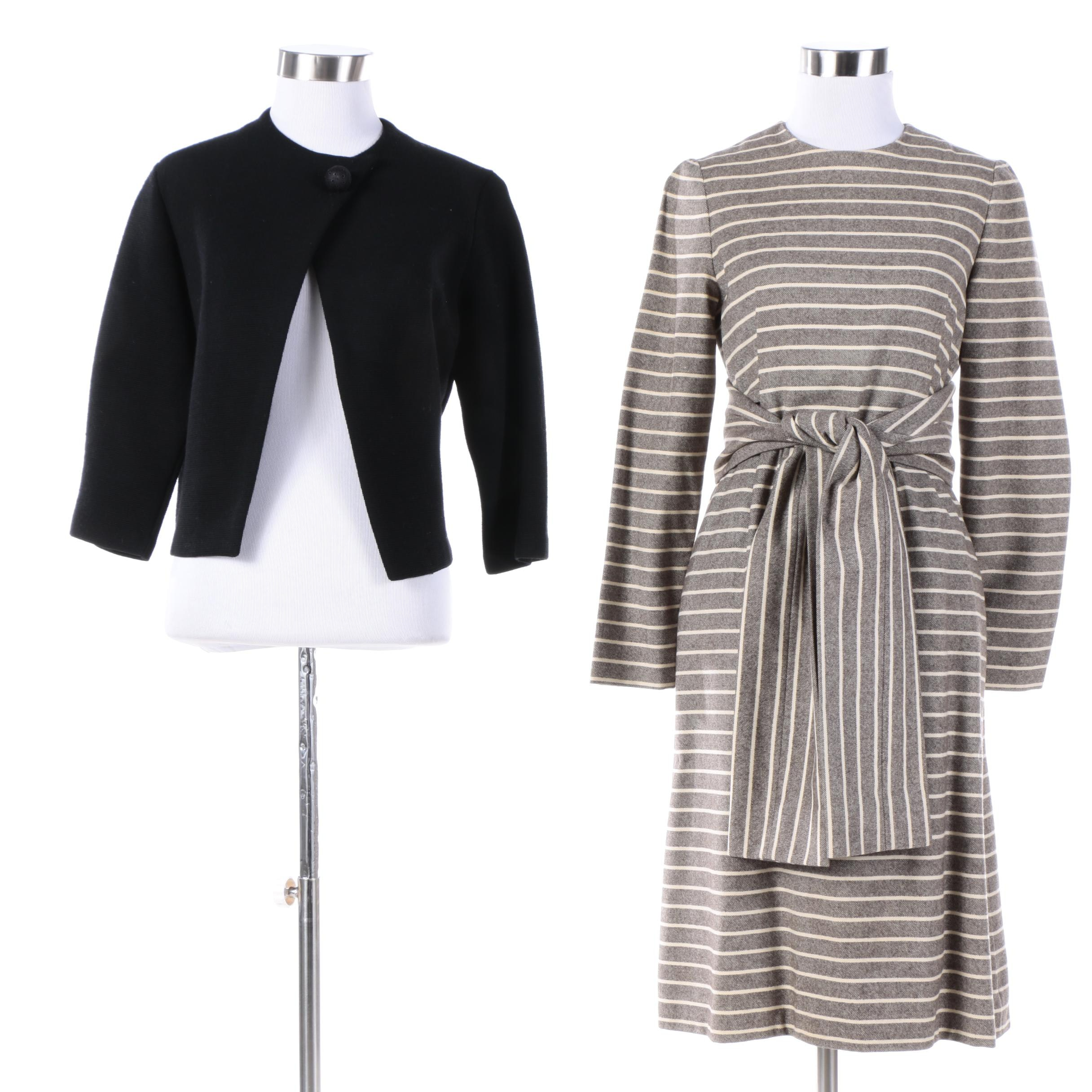 Vintage Pauline Trigere Dress and Telysa Wool Jacket
